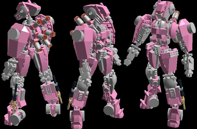 CyberAgent 3.0 (2013) Pink Ninja