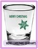 merry christmas to all shot glass