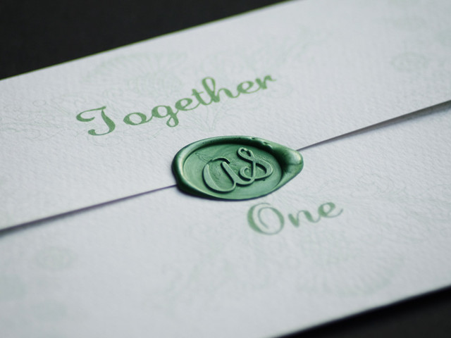 Wedding stationery and website package