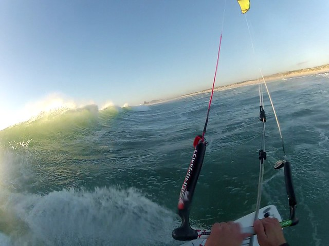 Kitesurfen am Sunset Beach