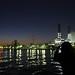 夕暮れ時の京浜運河
