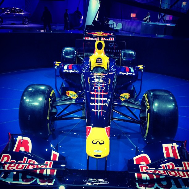 #detroit #naias #cars #redbull