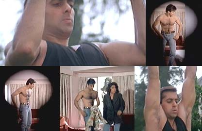 Salman Khan of 1993, in the movie Dil Tera Ashiq