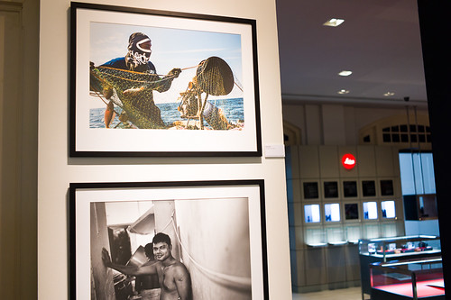 My picture at the Leica store gallery, Singapore