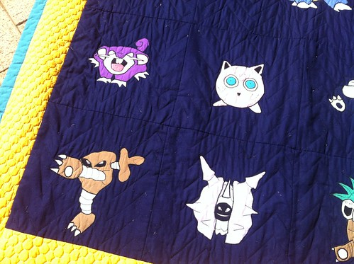 Pokemon Quilt (Bottom Left)
