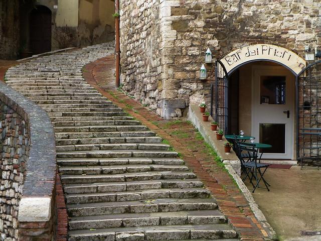 Perugia staircase
