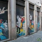 Photographing Street Art in Porto