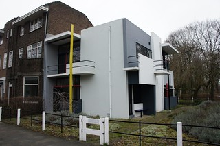 Casa Rietveld Schröder, Utrecht, Holanda