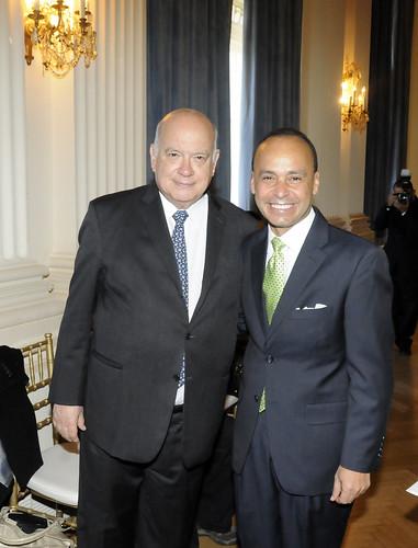 OAS Secretary General Met with Congressman Luis Gutierrez