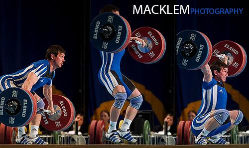 Mishkovets Yuri RUS 85kg weightlifter