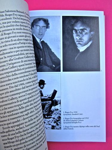 Virginia Woolf, Roger Fry. elliot 2012. [responsabilità grafica non indicata]; alla copertina: Ritratto di Roger Fry, di Vanessa Bell. Pag. 44 e tavola fuori testo [1] (part.), 1