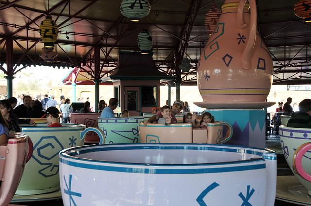 those crazy tea cups