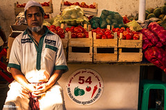 Vendor, Deira Fruit & Vegetable Market