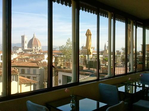Hotel a Firenze con 2 terrazze panoramiche: l\'Antica Torre