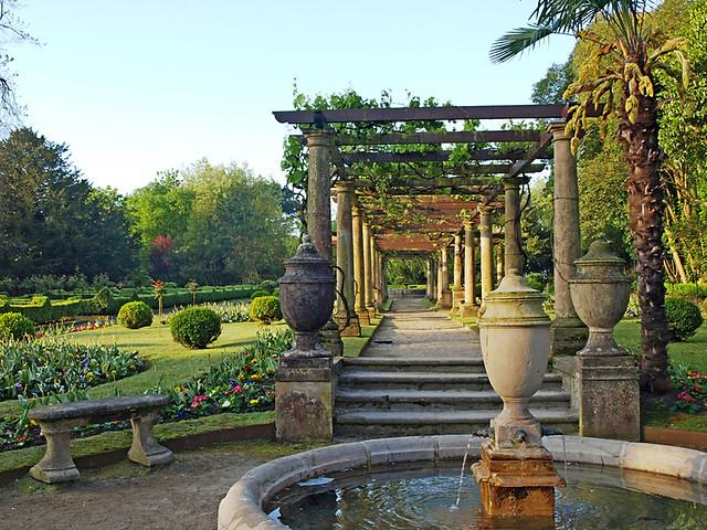 Gardens, Hotel Palacio de Ferrera, Avilés
