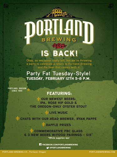 Portland Brewing Fat Tuesday