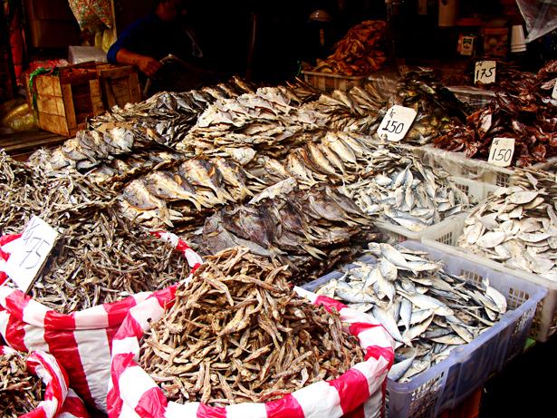 Fish stall at Divisoria