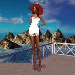 WellMade @ Designer Showcase - Fran Leather Dress