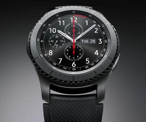 samsung annonce ses nouvelles montres gear s3 frontier et. Black Bedroom Furniture Sets. Home Design Ideas