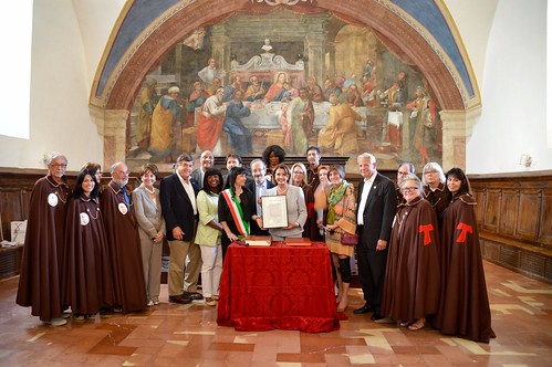 Congresswoman Pelosi commemorates the 800th Anniversary of the Pardon of Assisi