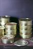 Tins with smoked flounder by zapxpxau