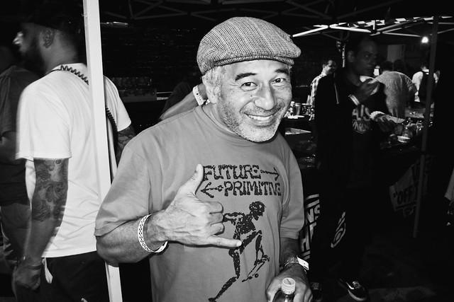 Steve Cabellero @ Half Cab 20th Anniversary House of Vans Brooklyn!
