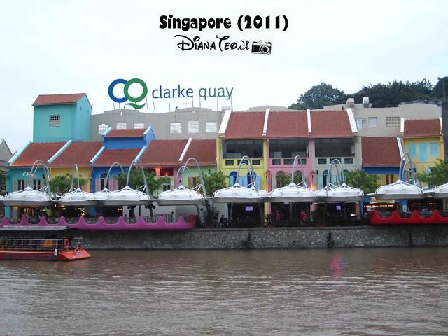 Day 1 Singapore - Clarke Quay
