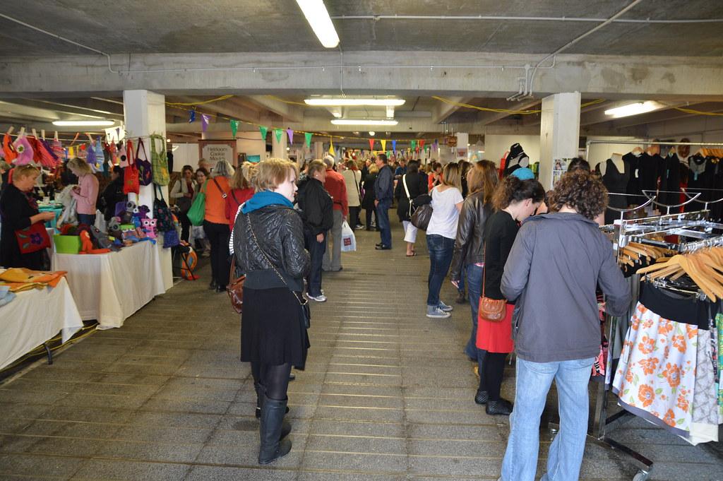 inside Wellington Underground Market