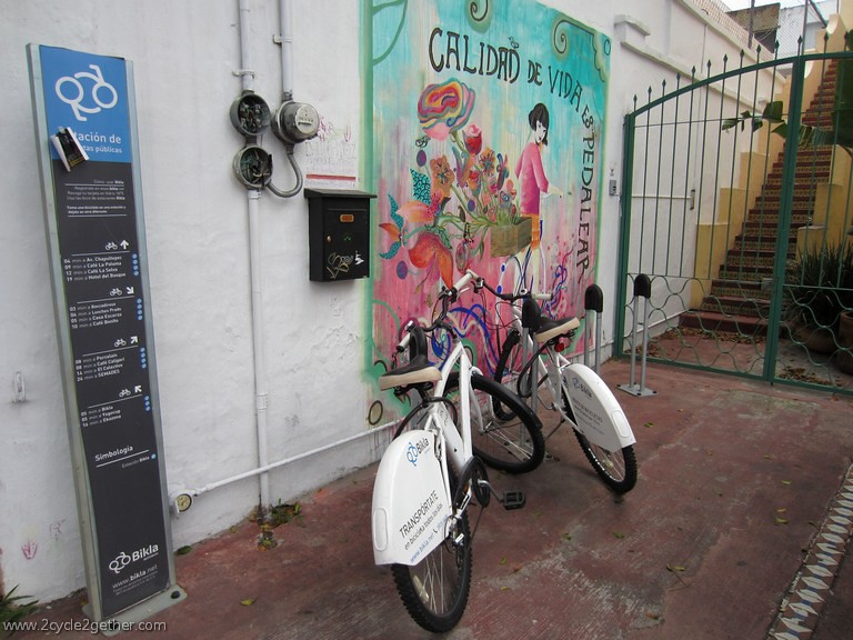 Bicycle Sharing Program, Guadalajara