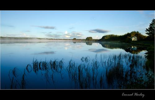 lake reflections lough conradharleyloughnaannagh loughnaannagh