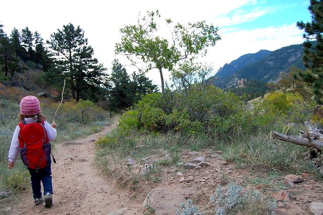 Valley Trail - Hiking Sanitas - Dakota Ridge Trail, Boulder, CO