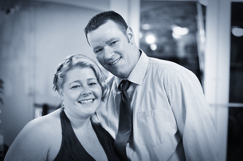 Tamie and Michael bw