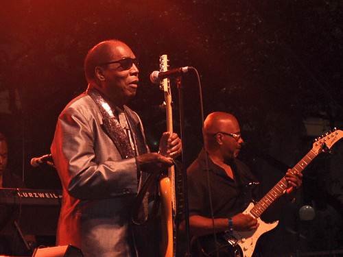 Clarence Carter at Blues & BBQ Fest 2012