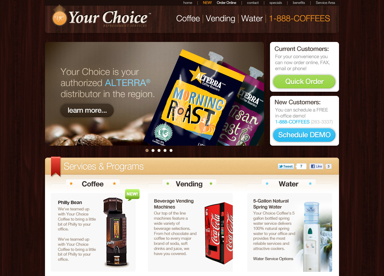 Your Choice Website