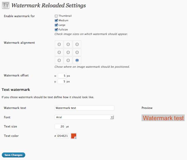 Tự động chèn watermark vào ảnh trong WordPress