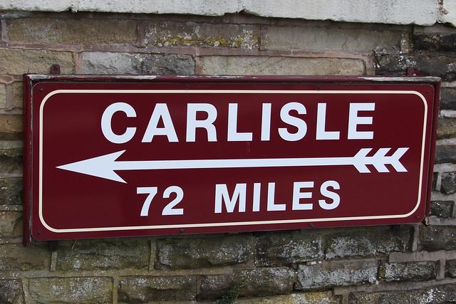 CARLISLE 72 miles