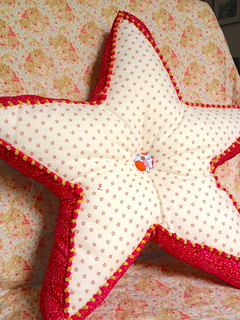 Star Pillow (side B )