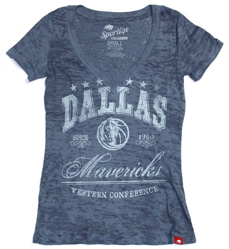 DALLAS MAVS AMERICANA SHIRT BY SPORTIQE APPAREL