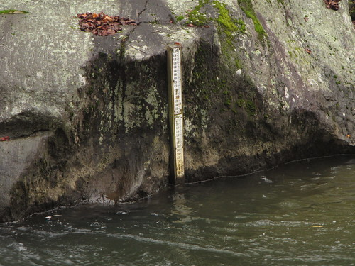 Old Stream Gauge at Falls Rd on the Big Gunpowder Falls River in Parkton, MD