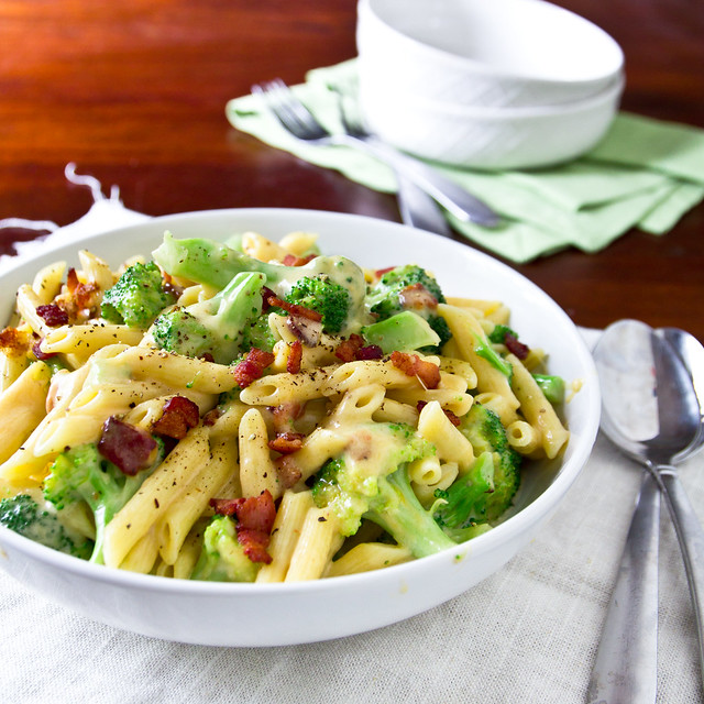 Broccoli and Bacon Macaroni & Cheese