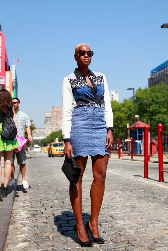 blueblond_ss2013 street style, street fashion, nyfw