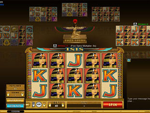Multi-Player Isis Slot Machine