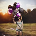 handfuls of balloons by Julia Trotti