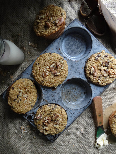 chunky monkey muffins {gf}
