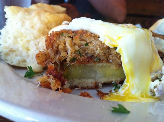 Toast of Charleston Eggs Market Street