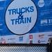 #NYCWFF TRUCKS & TRAIN