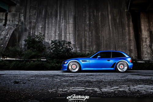 """Awkward"" BMW Z3M Coupe / eGarage by jeremycliff"