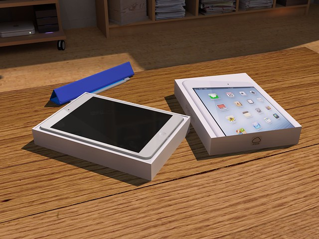 iPad mini unpacking 01