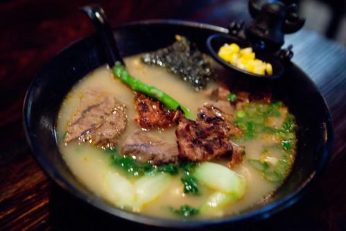 Niu beef trifecta soup noodles