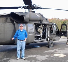 Larry Vaught visits the Kentucky National Guard